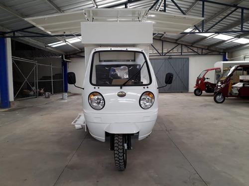 food truck  motocarro 2019 kingway con elevacion de techo