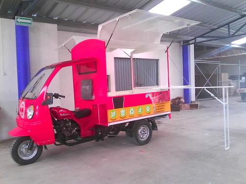 food truck  motocarro 2020 kingway con barra