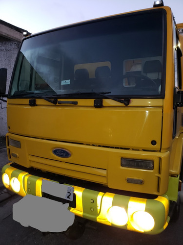 food truck / motor home / ambulância - ford cargo 815 2007