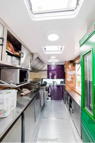 food truck nível internacional! cozinha industrial completa!