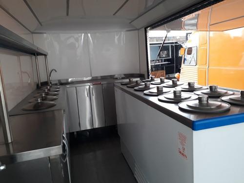 food truck para heladería patentable