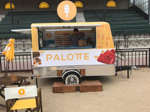 food truck para heladería patentable monterrey 100m