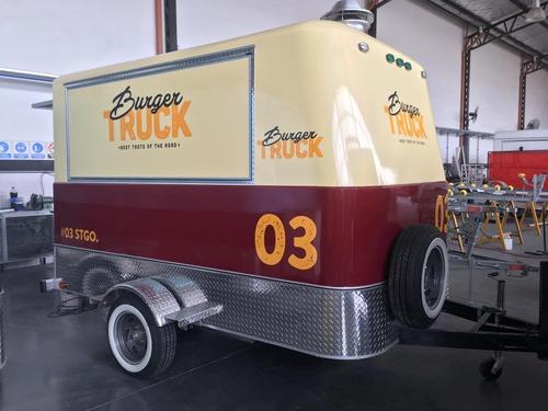 food truck patentable monterrey 100 con freno