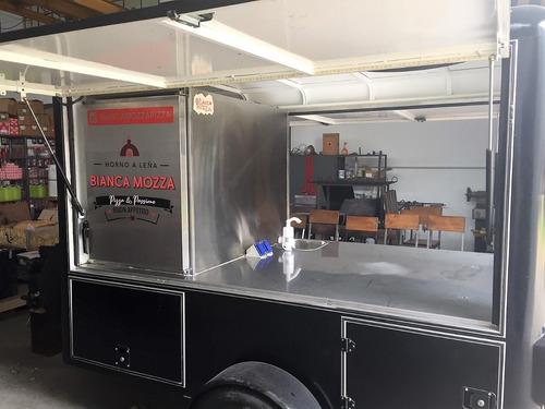 food truck pizza trailer  sin horno - pizza napoletana  !!!