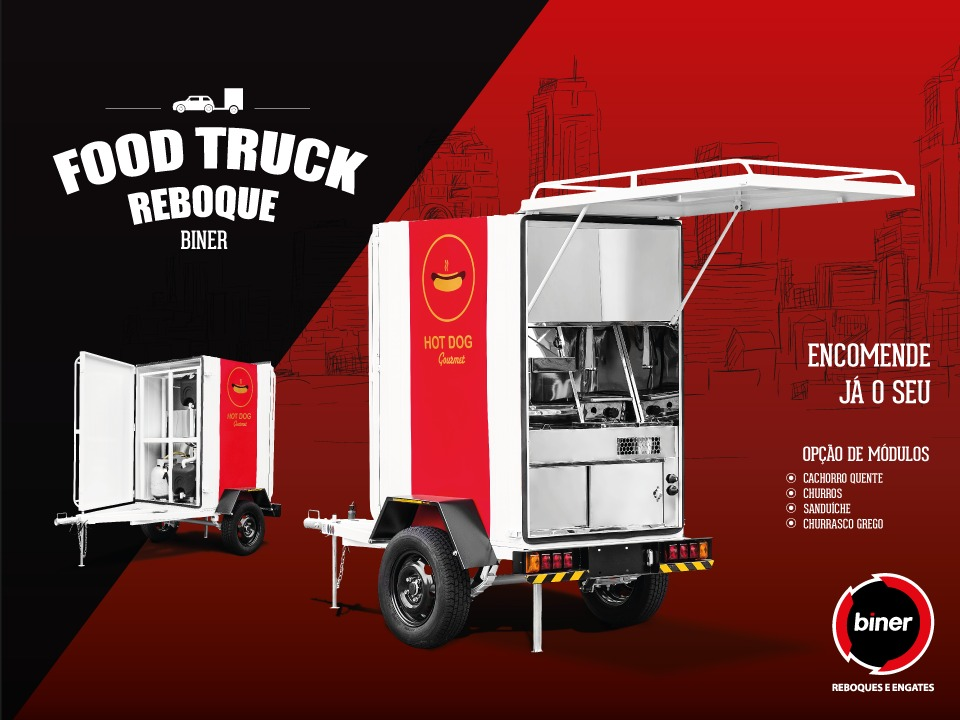 Food truck reboque biner r em mercado livre for Food truck design app