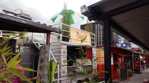food truck remolque furgon para comida rapida (2 plantas)