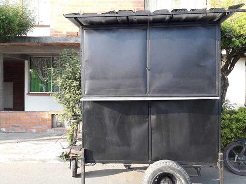 food truck (remolque pequeño) 4 meses de uso