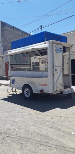 food truck remolque super equipado listo para trabajar