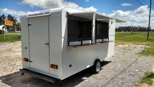 food truck rodantes brandsen trailer gastronomico 1 eje 450