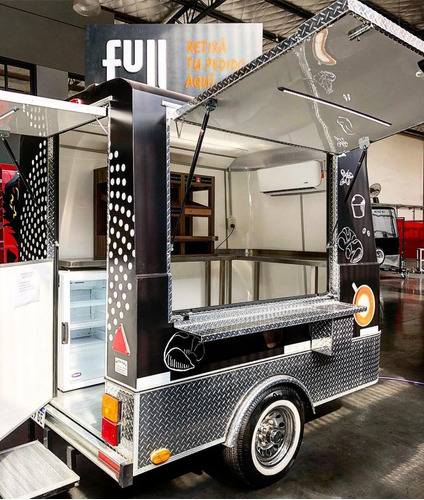 food truck tipo kiosco full ypf homologado patentable