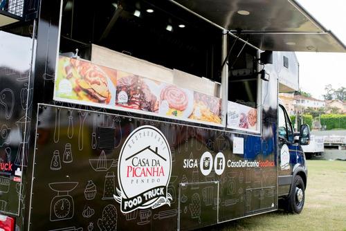 food truck top de linha caminhão novo iveco daily!