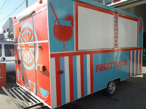 food truck trailer gastronomico