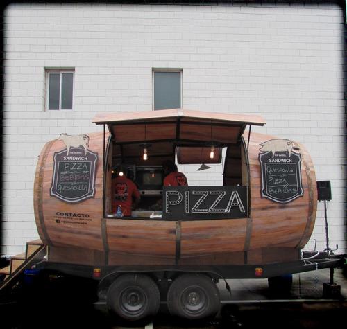 food  truck trailer  gastronomico cerveza artesanal