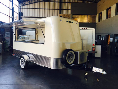 food truck trailer gastronómico mactrail