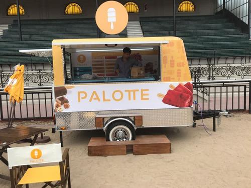 food truck trailer heladería mactrail patentable