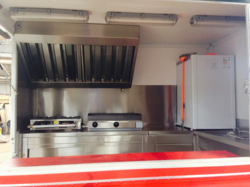 food truck, tranformacao, carro lanche, icebox