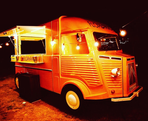 food truck vintage de alquiler para filmaciones o eventos
