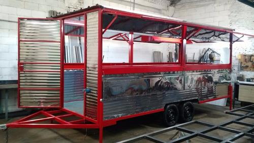 food trucks 6mts.  equipado