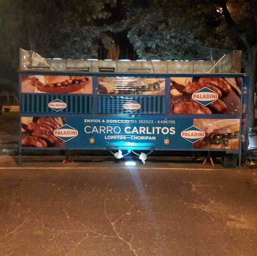 food trucks 6mts. totalmente equipado