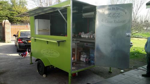 foodtruck equipado para venta de comida rapida