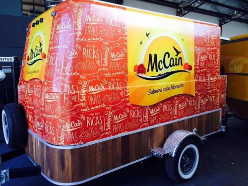foodtruck food trailer patentado de fabrica homologado lcm
