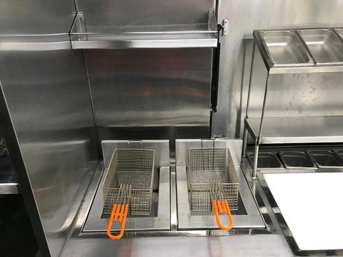 foodtruck vanette equipado
