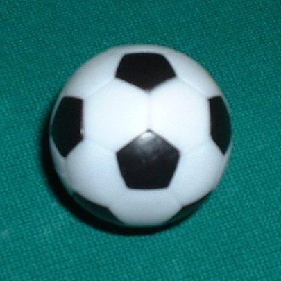 foosball bankshotbilliards informe w / 12 foosballs fútbol