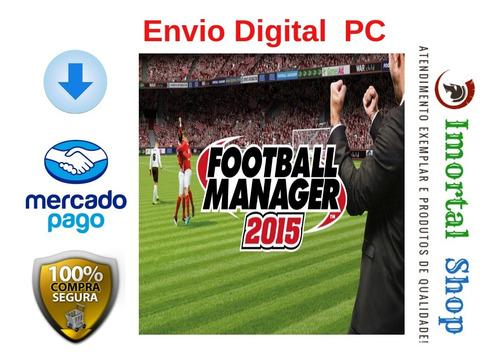 football manager 15 mídia digital pc