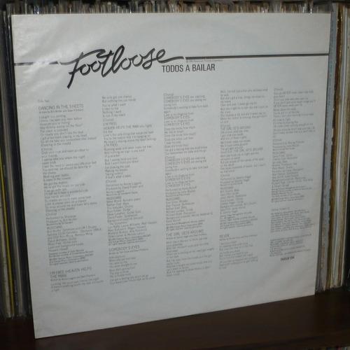 footloose lp soundtrack