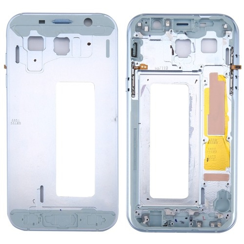 for galaxy a7 (2017) / a720 middle frame bezel(blue)