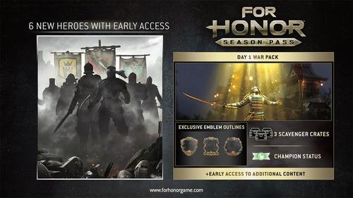 for honor season pass pc uplay | fast2fun