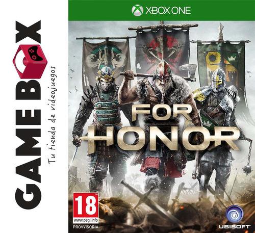 for honor xbox one juegos en disco fisico nuevos de paquete