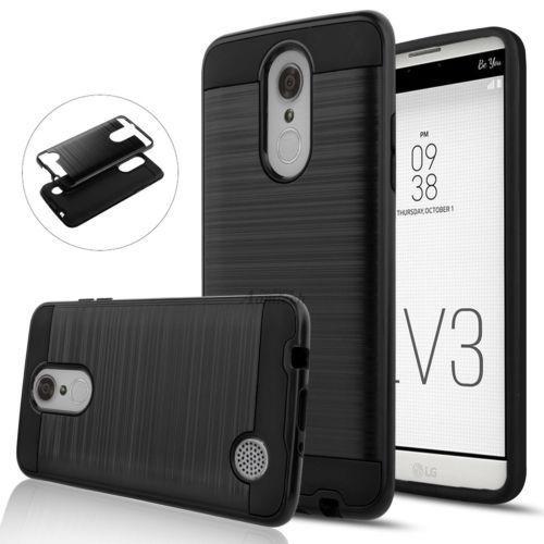 online store e11e9 430aa For Lg M210/ms210 Case - Black - Para Lg Aristo Lv3 K8 -5725