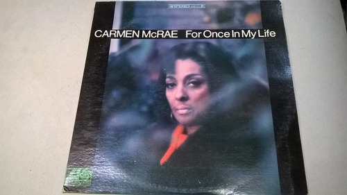 for once in my life, carmen mcrae - lp vinilo 1967 usa ex
