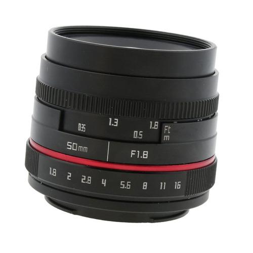 for sony a3000 a5000 a6000 a7rii a7iii fixed lens 50mm focal