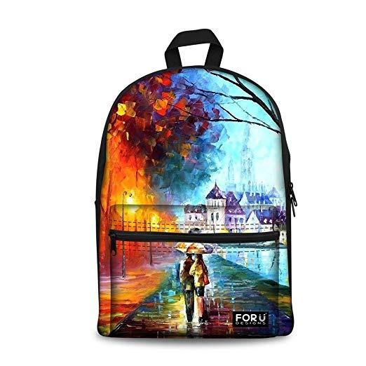 For U Designs Children School Bags For Teenager Boys Girls ... 7ea4fb30ec605