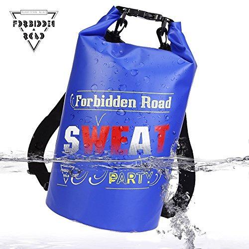 forbidden road 2l 5l 10l 15l 20l bolsa impermeable a prueba
