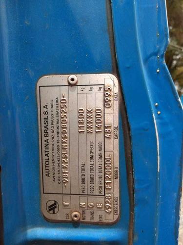 ford 12000 ano 1996 com desentupidor de fossa
