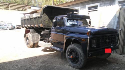 ford -13000- caçamba -1984-turbo- troco por camionete . .