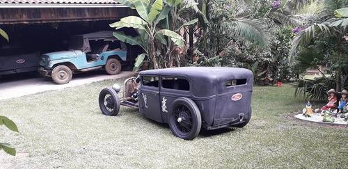 ford 1929 fordinho 29 hotrod teto rebaixado rathod ford v8