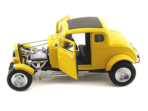 ford 1932 hot rod coleccion 1 18 motormax 25cm en caja