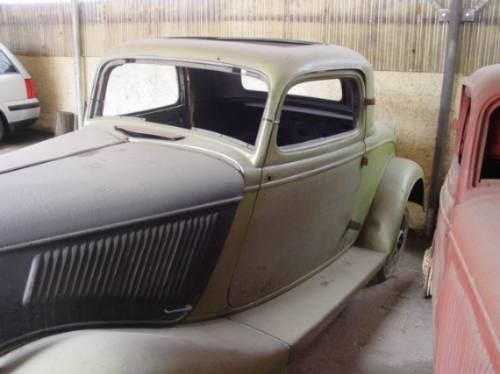 ford 1934 coupe 3 janelas
