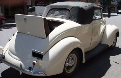 ford 1937 v8 voiture convertible