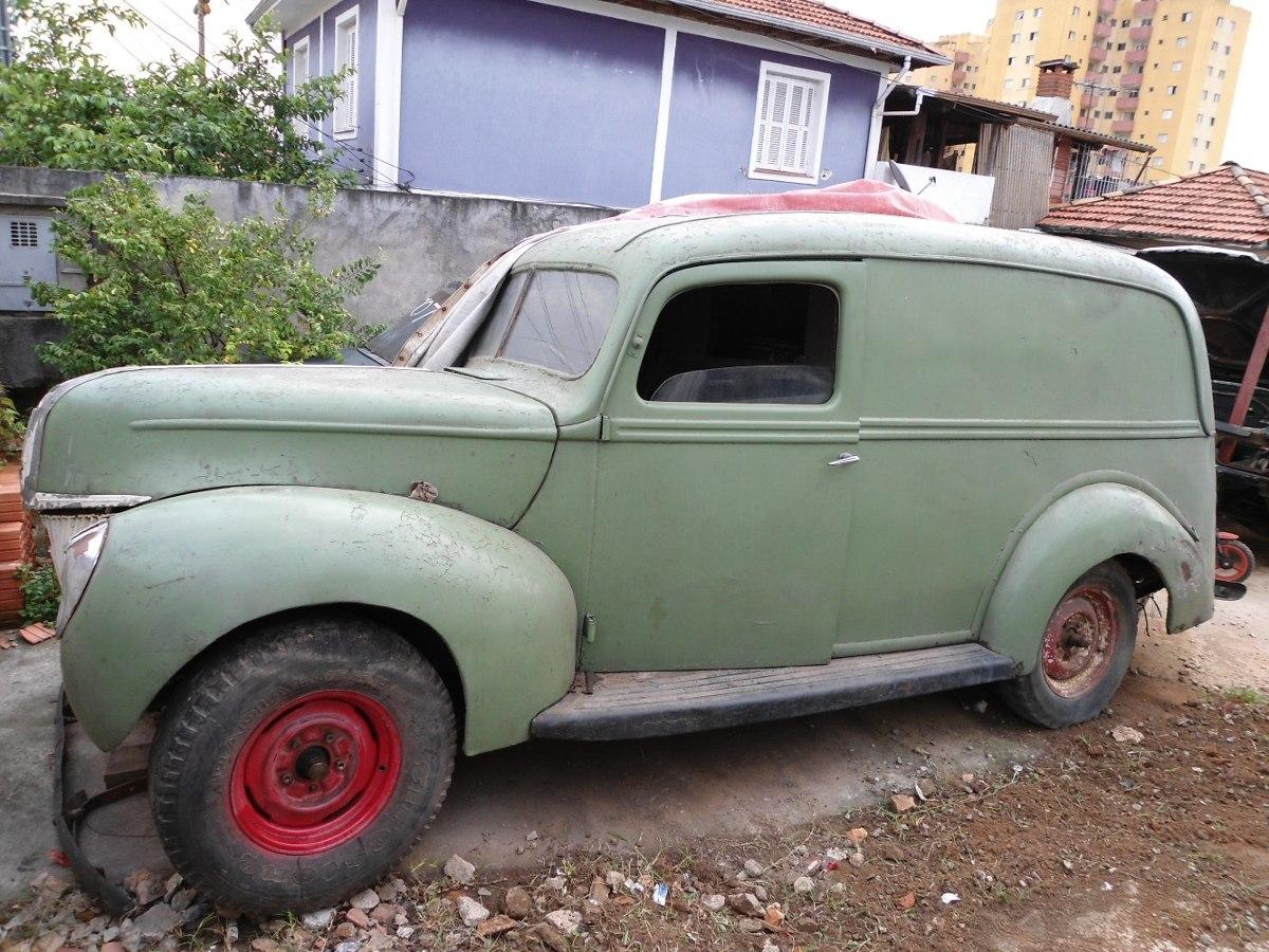 Ford 1940 1941 Furgo Motor V8 8ba F1 F100 Mercury Mustang R Carregando Zoom