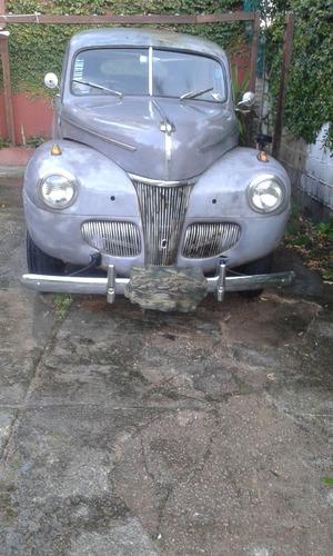 ford 1941 motor v8 original 6 volt sedan 2 puertas