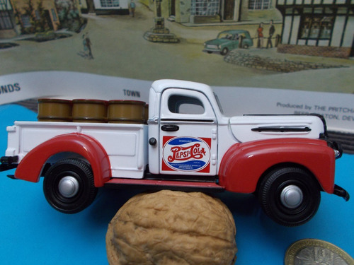ford 1947 pick up metalica 1/43