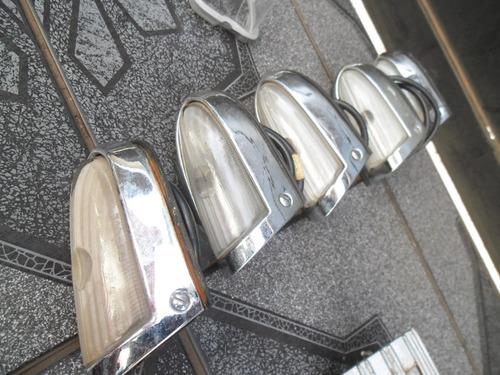ford 1949 - pisca dianteiro original completo lente de vidro