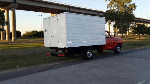 ford 350 con caja termica y equipo de frio