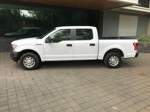 ford 4 puertas f150 crew cab xl 2015 (impecable)