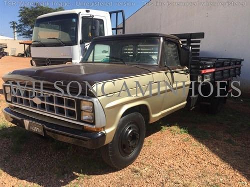 ford 4000  1984 dourada